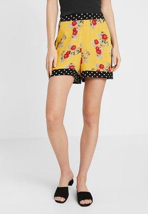 Shorts - yellow/multicoloured