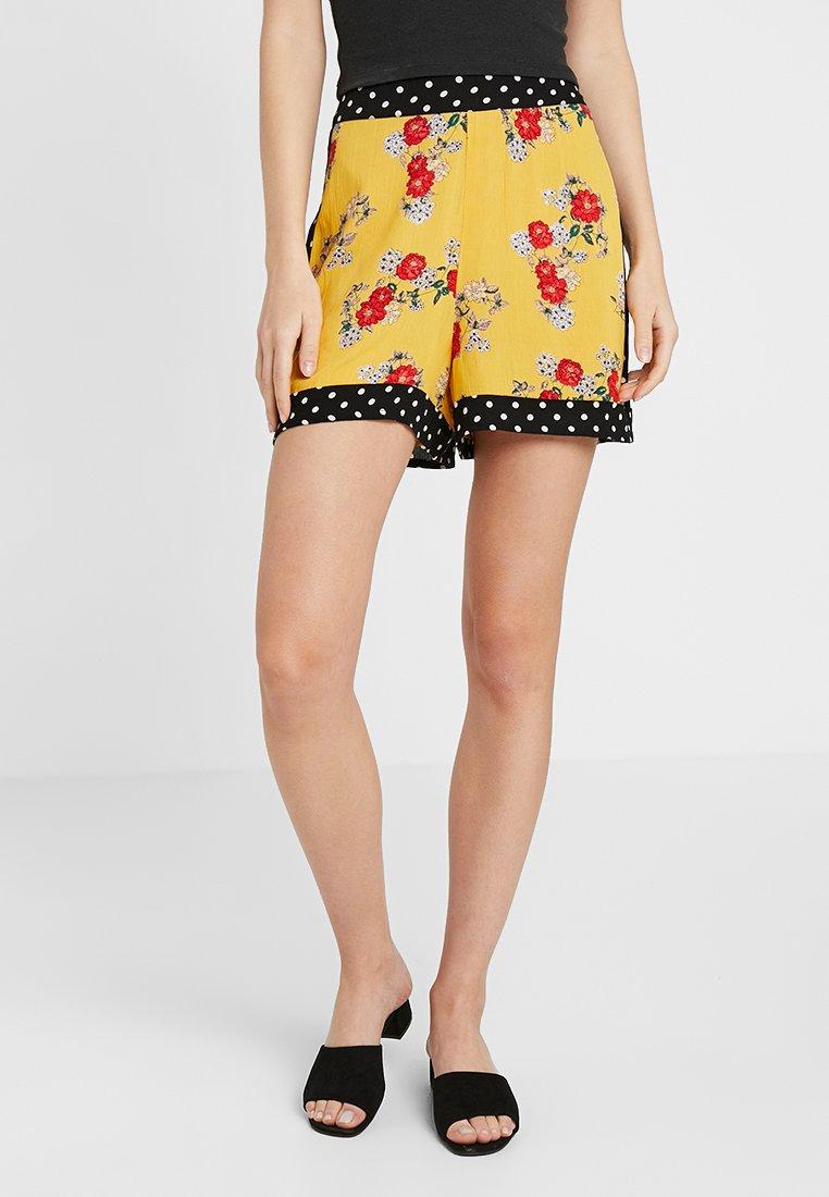 Even&Odd - Shorts - yellow/multicoloured