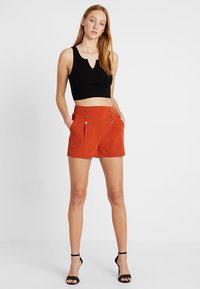 Even&Odd - Shorts - rusty red - 1