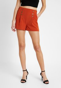 Even&Odd - Shorts - rusty red - 0