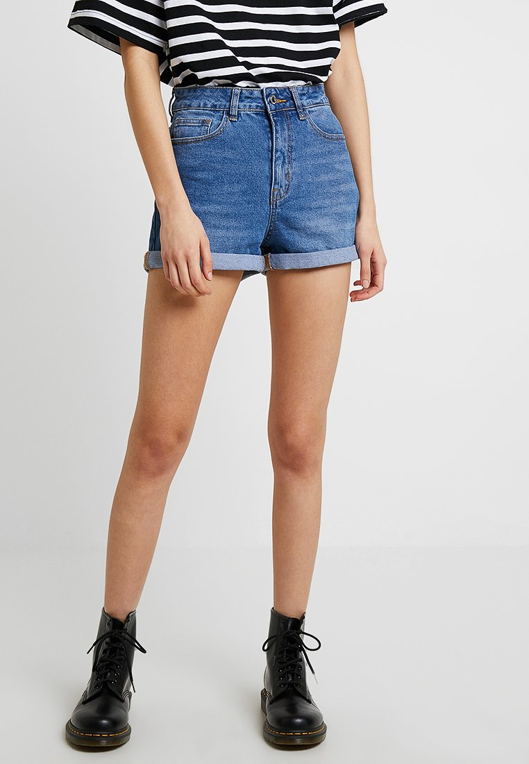 Even&Odd - Jeans Shorts - light blue