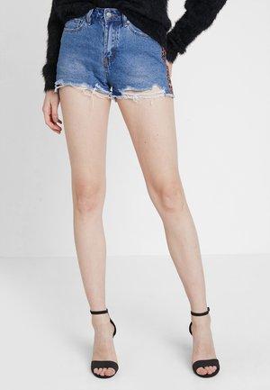Shorts di jeans - mid blue