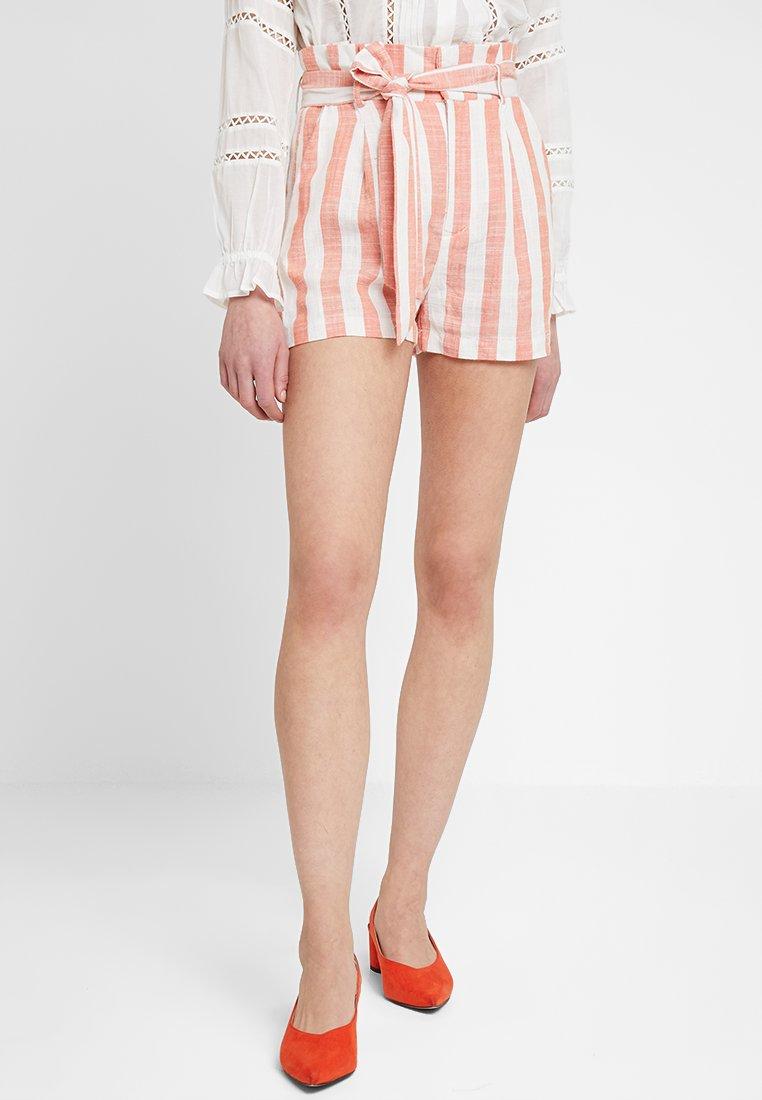 Even&Odd - Shorts - white orange