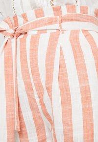 Even&Odd - Shorts - white orange - 4
