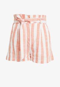 Even&Odd - Shorts - white orange - 3