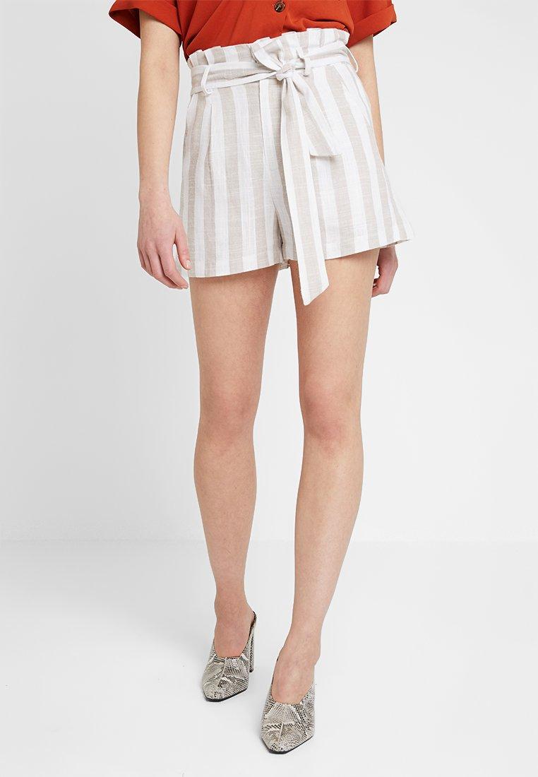 Even&Odd - Shorts - white/beige