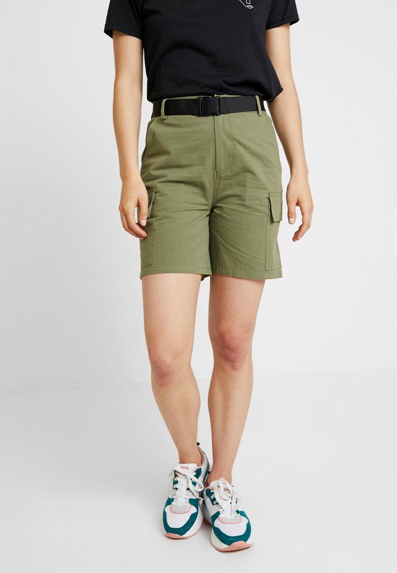 Even&Odd - Shorts - khaki