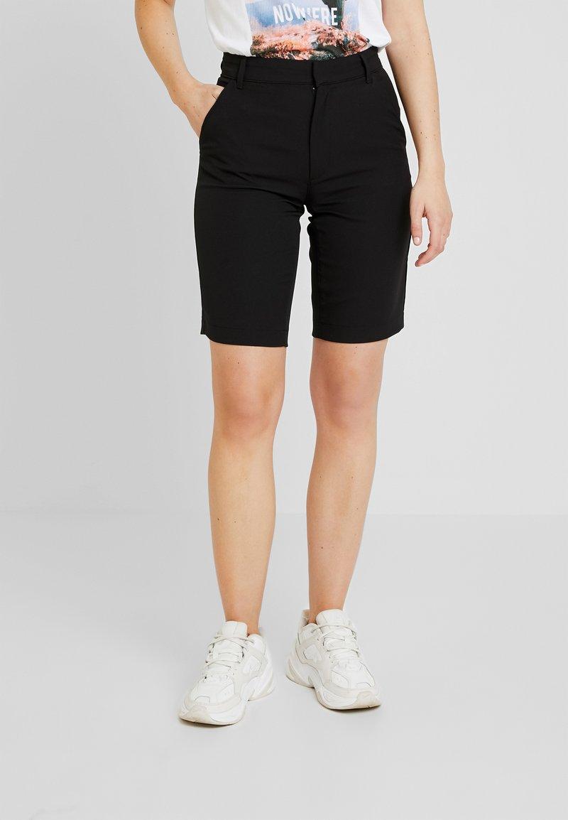 Even&Odd - Jeans Shorts - black
