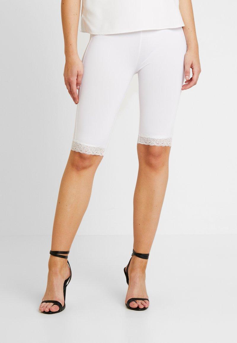 Even&Odd - 2 PACK - Shorts - white/black