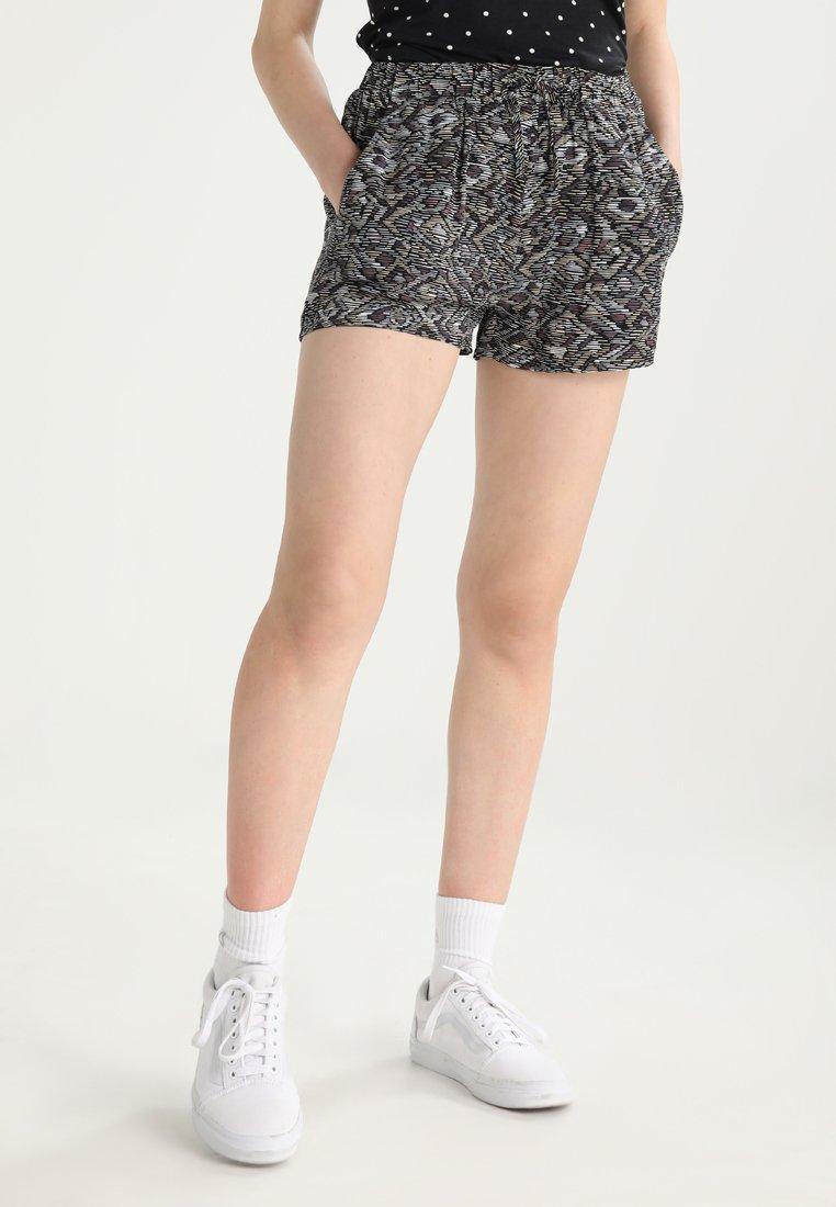 Even&Odd - Shorts - black/multicolor