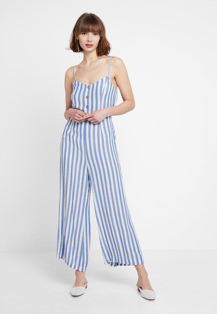 Even&Odd - Jumpsuit - white/blue