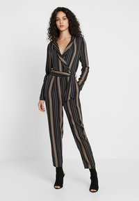 Even&Odd - Jumpsuit - black/multicoloured - 0