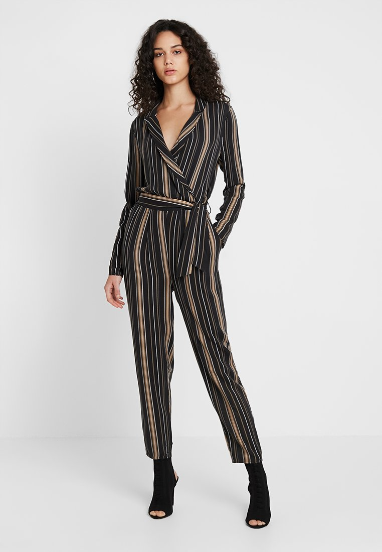 Even&Odd - Jumpsuit - black/multicoloured