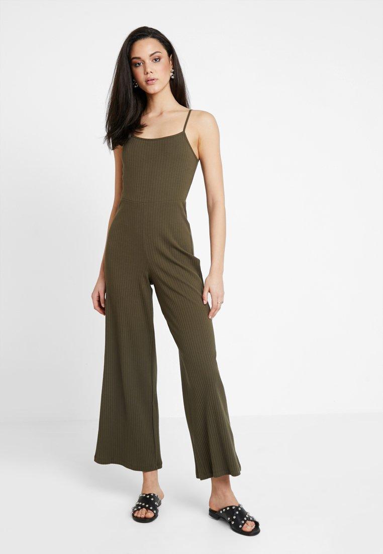 Even&Odd - Overall / Jumpsuit /Buksedragter - khaki