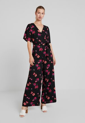Jumpsuit - red/black