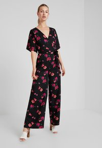 Even&Odd - Jumpsuit - red/black - 2