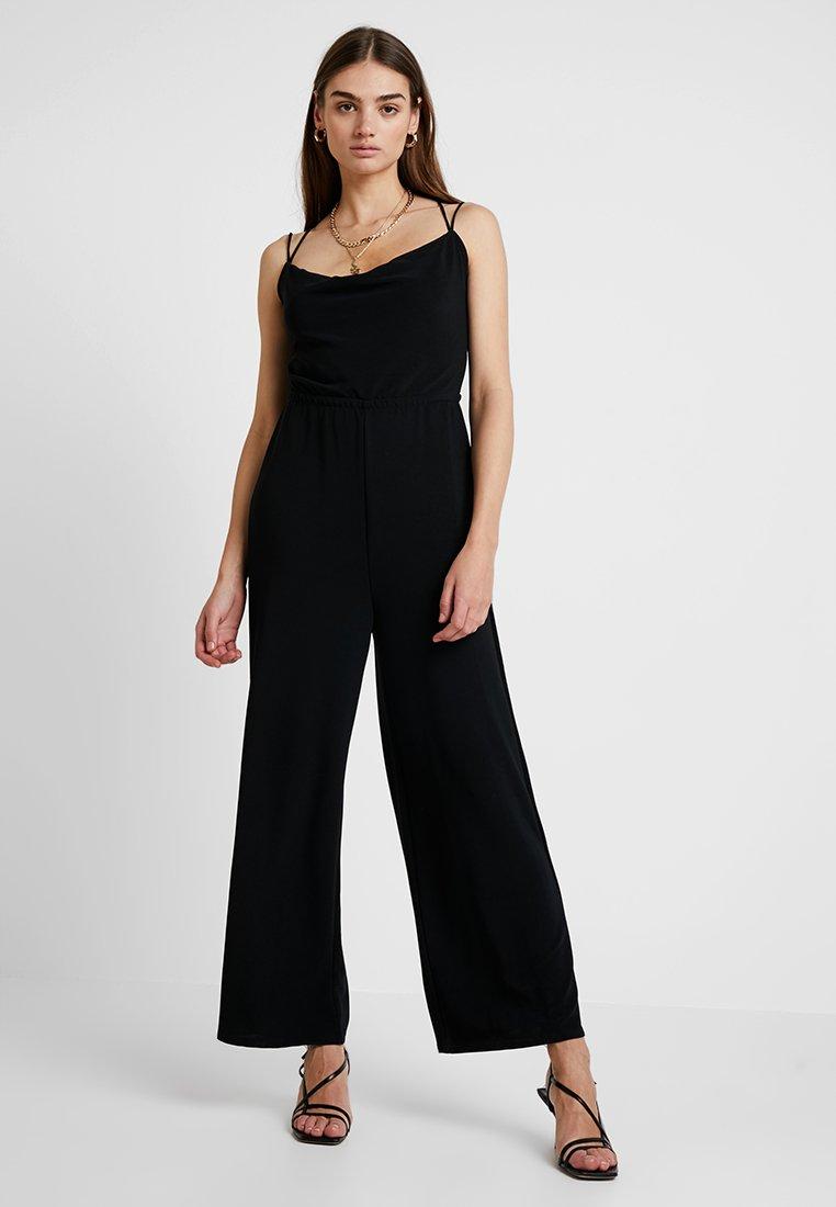 Even&Odd - Tuta jumpsuit - black