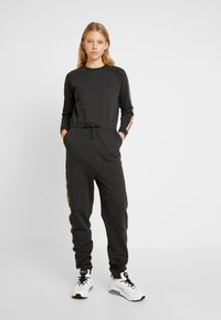 Even&Odd - Overall / Jumpsuit /Buksedragter - dark grey - 0