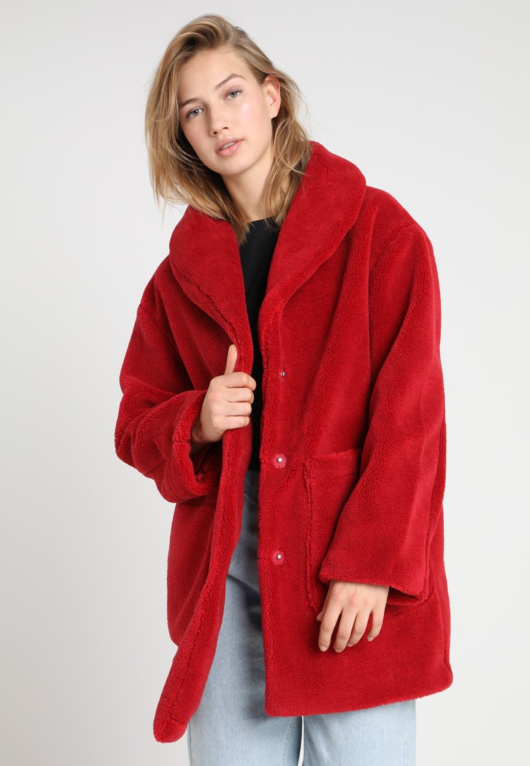 Even&Odd - Wintermantel - dark red