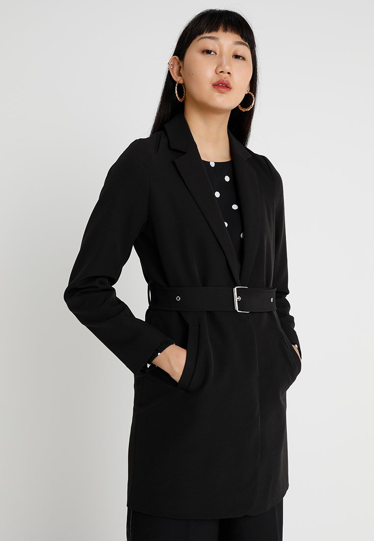 Even&Odd - Cappotto corto - black