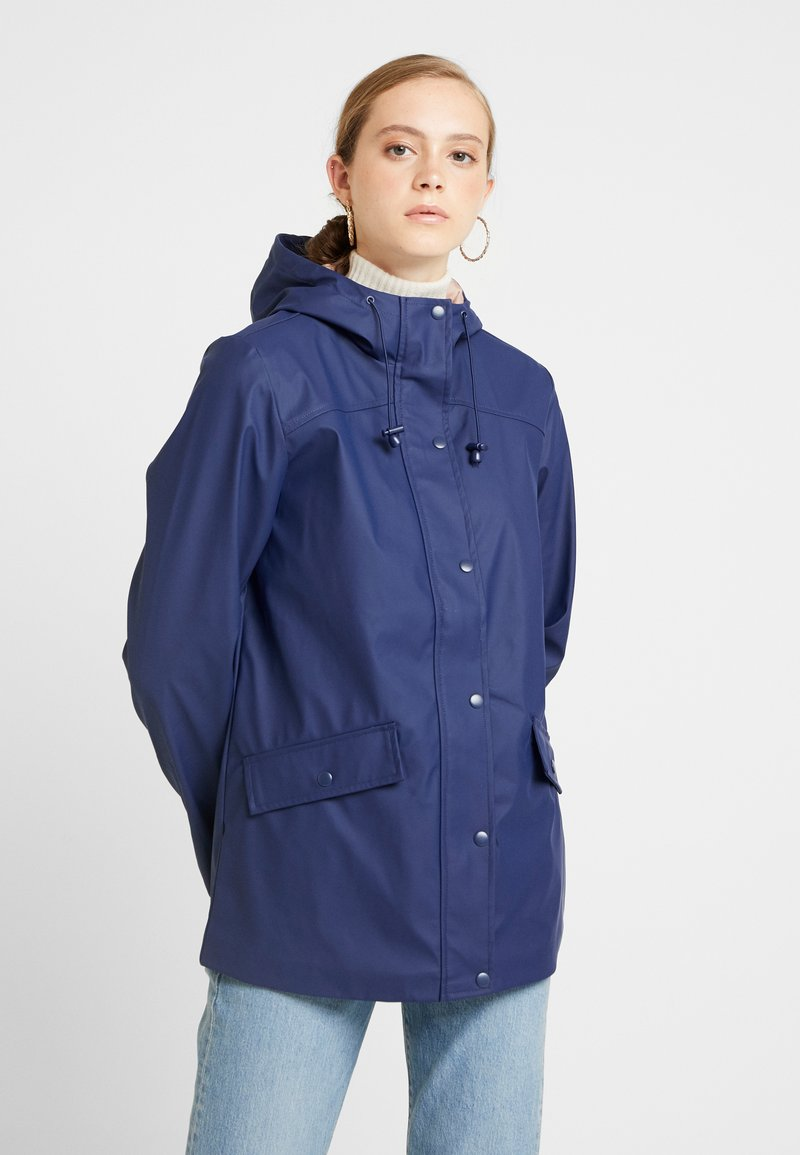 Even&Odd - Classic coat - dark blue