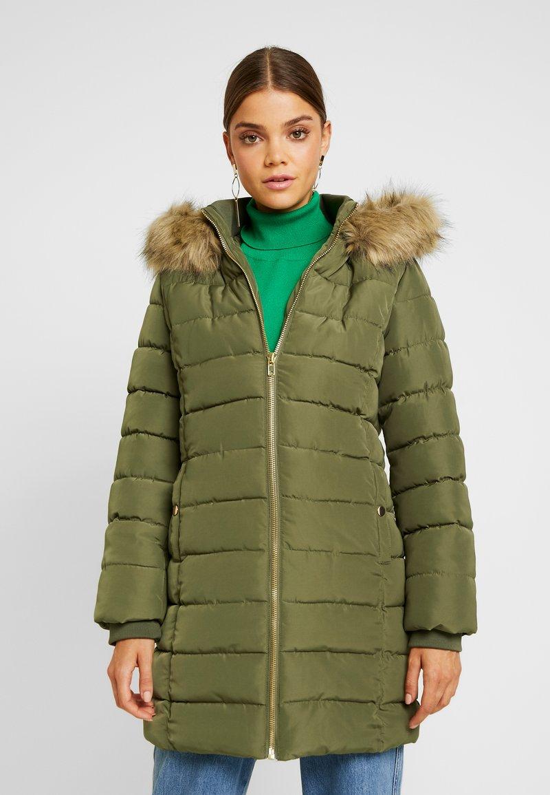 Even&Odd - GIRLY COAT - Wintermantel - khaki