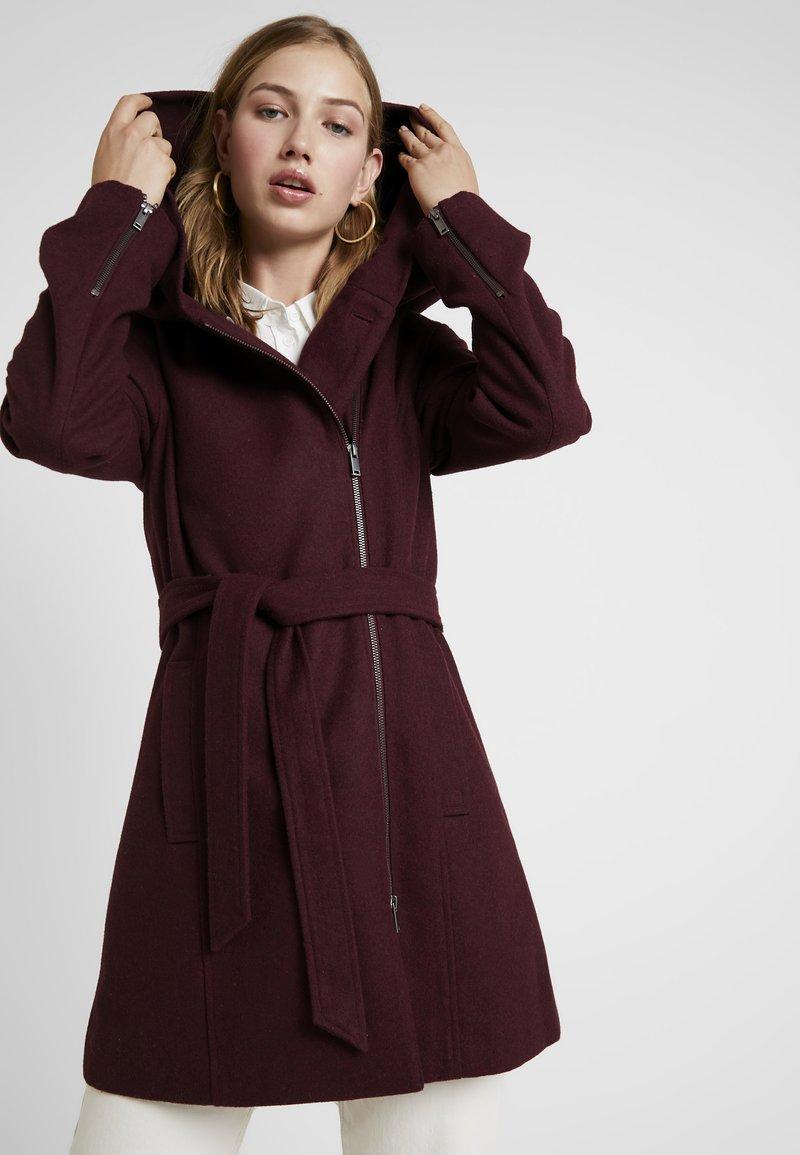 Even&Odd - Short coat - bordeaux