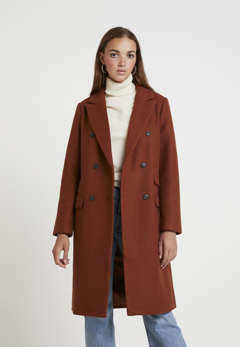 Even&Odd - Zimní kabát - copper