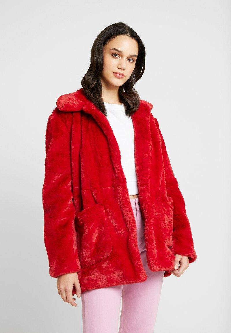 Even&Odd - Wintermantel - red