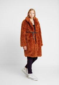 Even&Odd - Classic coat - camel - 1