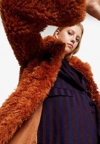 Even&Odd - Classic coat - camel - 3