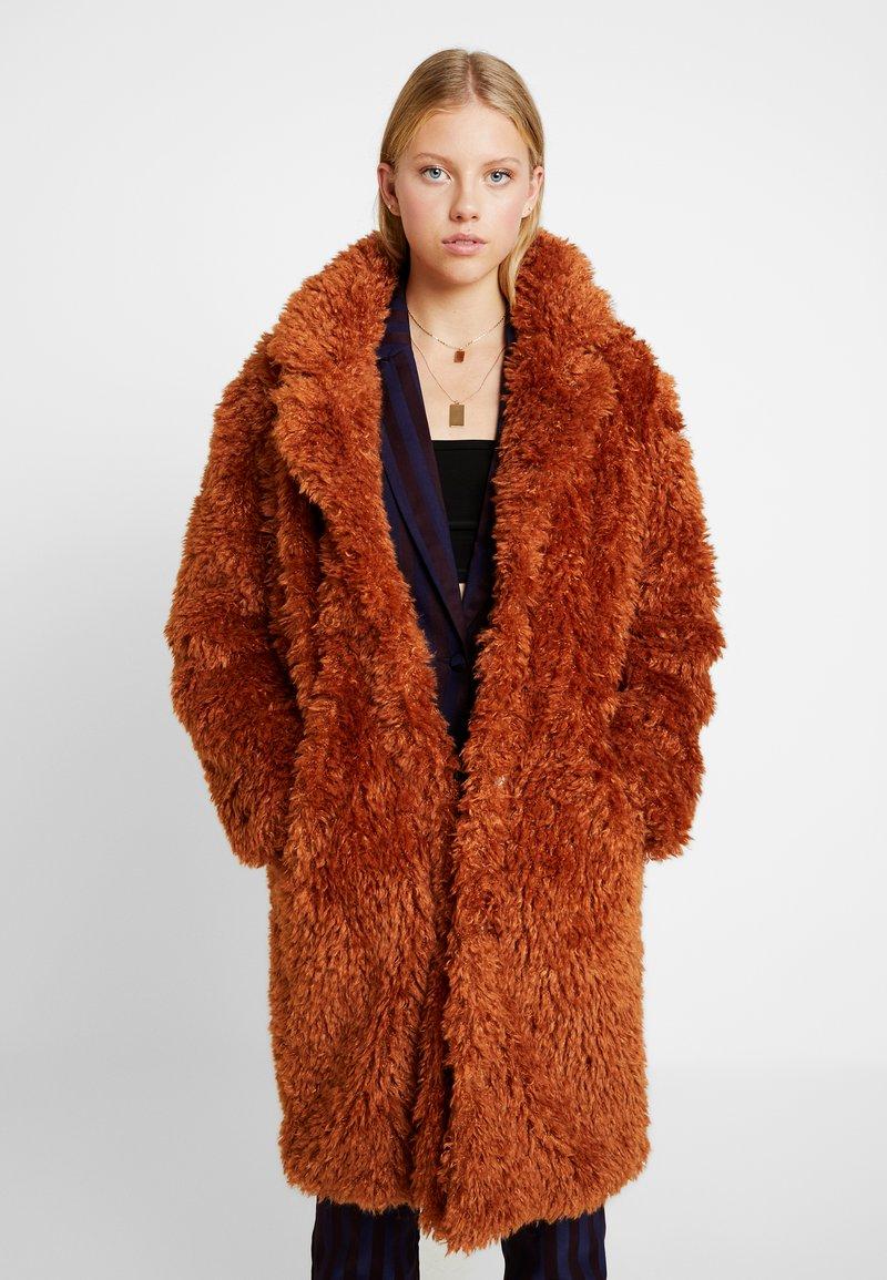 Even&Odd - Classic coat - camel