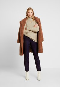 Even&Odd - Zimní kabát - ginger bread - 1