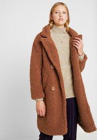 Even&Odd - Zimní kabát - ginger bread - 0