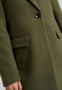 Even&Odd - Płaszcz wełniany /Płaszcz klasyczny - khaki - 5