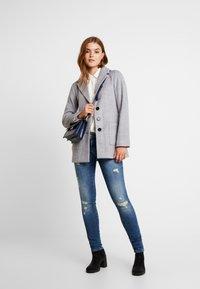 Even&Odd - Zimní kabát - mid grey melange - 1