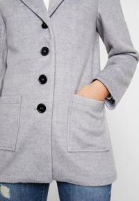 Even&Odd - Zimní kabát - mid grey melange - 5