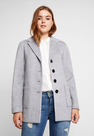 Zimní kabát - mid grey melange