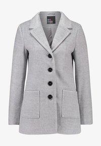 Even&Odd - Zimní kabát - mid grey melange - 4