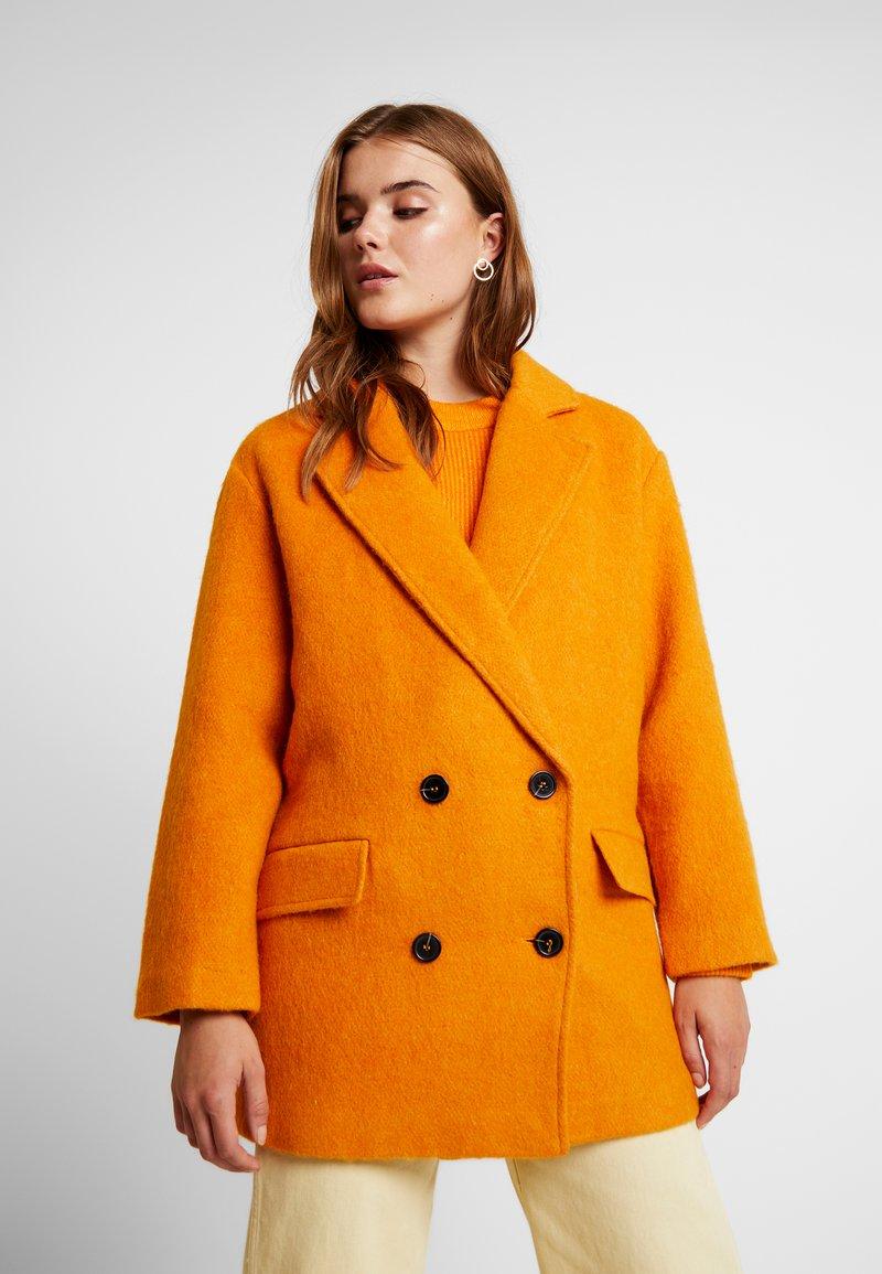 Even&Odd - Short coat - mustard