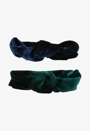 2PACK - Panta/korvaläpät - dark blue/green