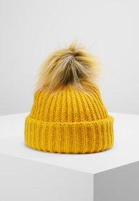 Even&Odd - Bonnet - mustard - 0