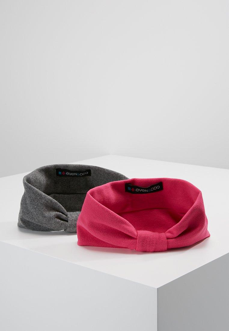 Even&Odd - 2 PACK HEADBAND - Haar-Styling-Accessoires - grey