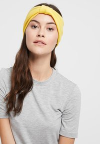Even&Odd - 2 PACK HEADBAND - Hair Styling Accessory - mustard/black - 1