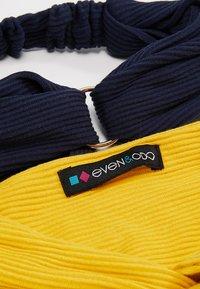 Even&Odd - 2 PACK HEADBAND - Hair styling accessory - dark blue/mustard - 5