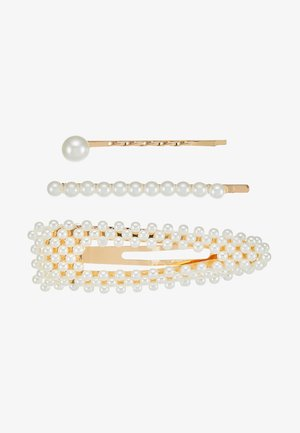 3 PACK - Haaraccessoire - gold-coloured