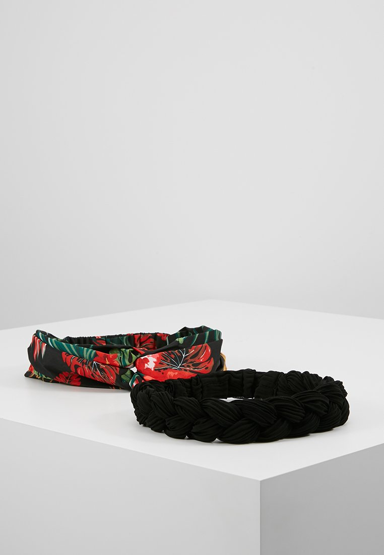 Even&Odd - 2 PACK - Příslušenství kvlasovému stylingu - black/red