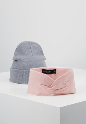 SET 2 PACK - Ohrenwärmer - grey/rose