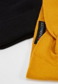 Even&Odd - SET 2 PACK - Oorwarmers - mustard/black - 5