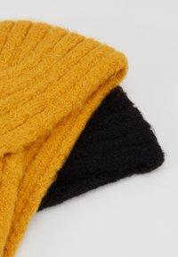 Even&Odd - 2 PACK - Oorwarmers - mustard/black - 5
